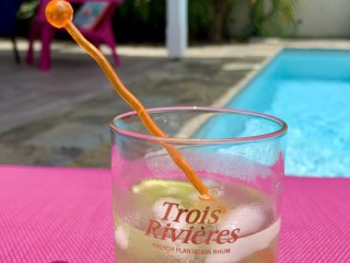 Location vacances Villa Sainte-Luce: Ti punch, au bord de la piscine ...<br />