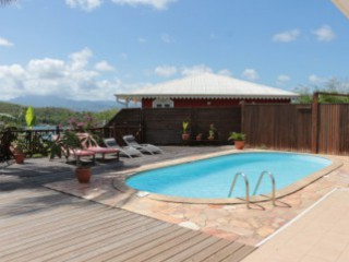 Location Villa Martinique - Piscine et deck