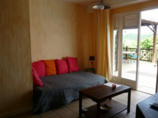 Location Villa Martinique - salon T2