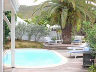 Location Villa Saint-Barth : piscine, clim, internet