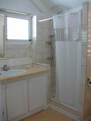 Location Villa Saint-Martin - Toilette du haut