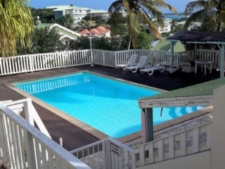 Location Villa Saint-Martin : vue mer, piscine, clim, internet