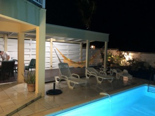 Location Villa Saint-Martin : piscine, climatisation, internet