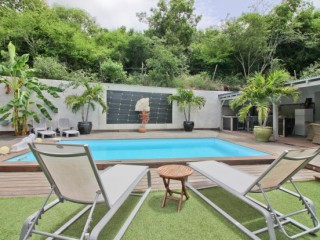 Location Villa Saint-Martin : piscine, clim, internet