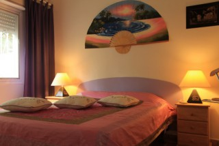 Location Villa Saint-Martin - Chambre queen