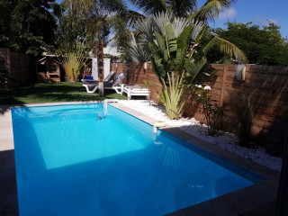 Location Villa Saint-Martin - piscine privée