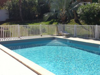 Location Appartement Saint-Martin - La piscine