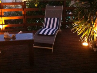 Location Appartement Saint-Martin - La terrasse de nuit
