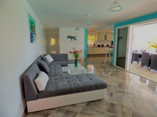 Location Villa prestige Martinique - le salon