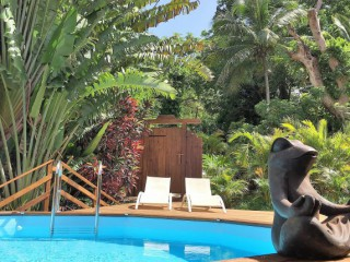 Location vacances Villa prestige Deshaies: Piscine privative ...<br />