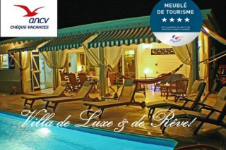 Location Villa prestige Martinique : piscine, clim, internet