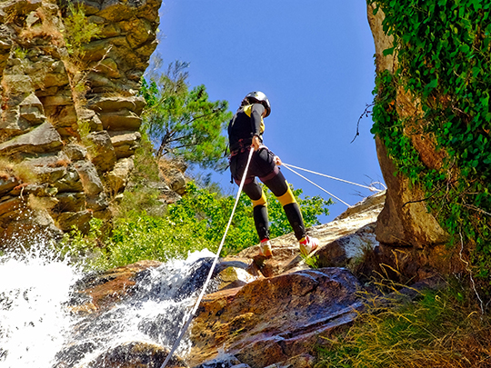 Faire du canyoning en Guadeloupe