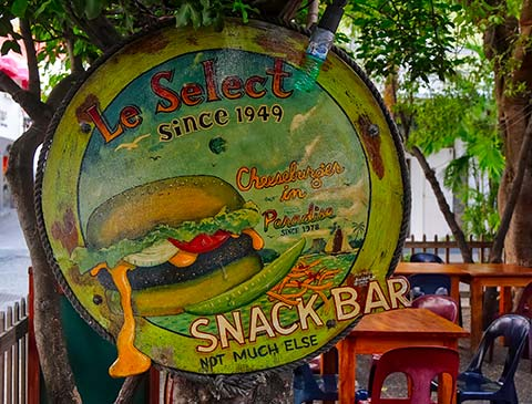 Le Select bar de St-Barth